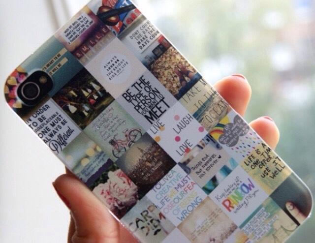 7. Photo collage phone case