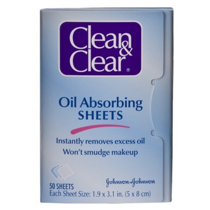 Blotting sheets just incase your face is getting oily