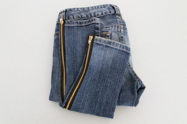 Convert a baggy jeans into skinny jeans with this brilliant idea.