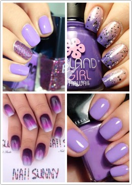 Love the color purple? Here's some nailspiration just for you! I've also added some swatches and polishes that you're sure to love as well!😊