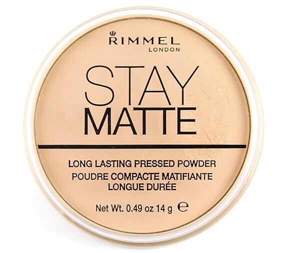 Rimmel Stay Matte Powder  Around £4.00
