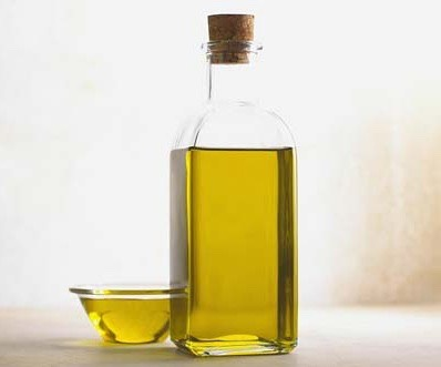 1/2 a cup of oil  (olive, sunflower, almond, or canola)