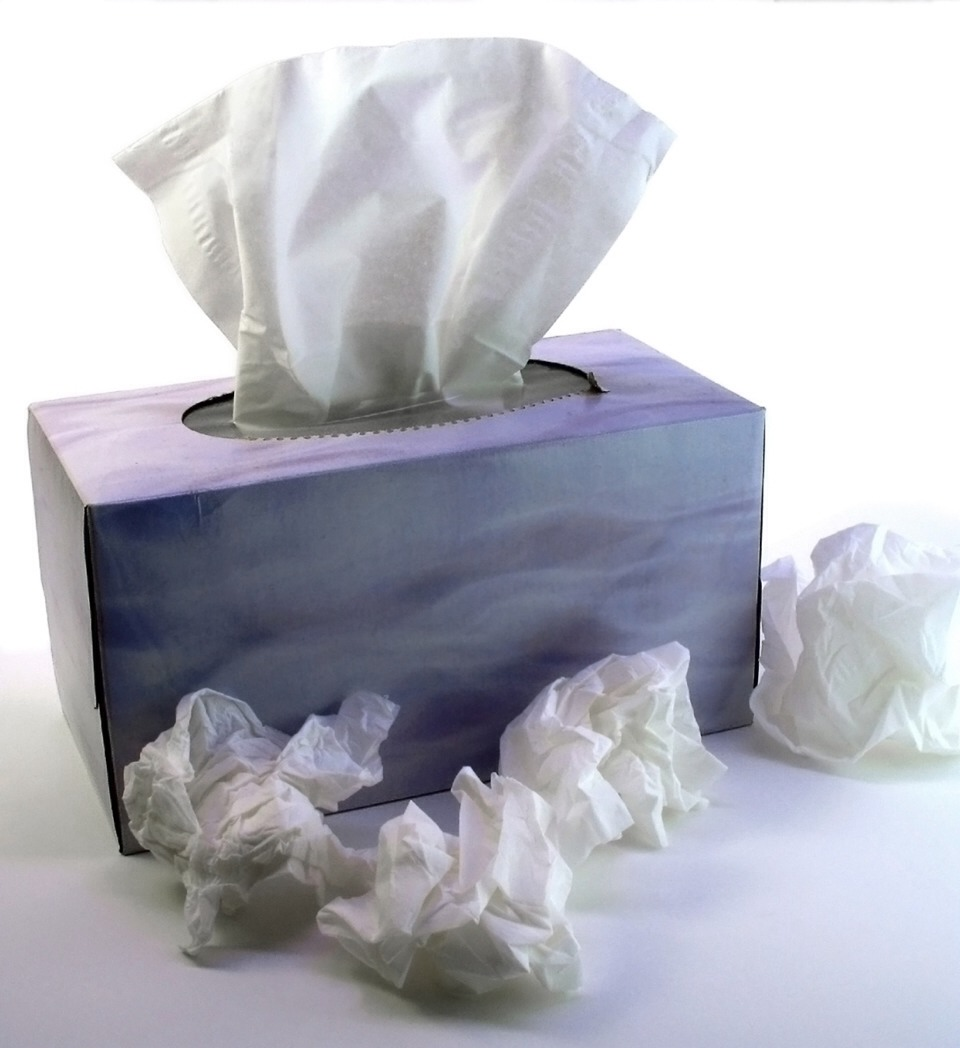 Sneezing a lot? Sneeze into a tissue and blow your nose to decrease the amount of sneezing your doing
