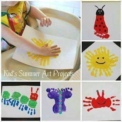 Kids Summer Art Projects By Jeanie Hesse Musely