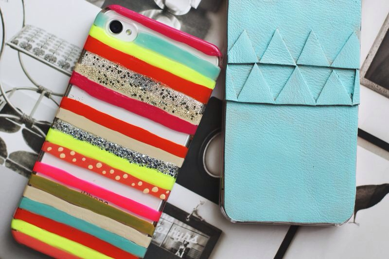 Make your own cellphone case with a bunch of different materials.. Try out nail polish on a clear case, gluing leather.. Glitter.. Whatever you come up with!