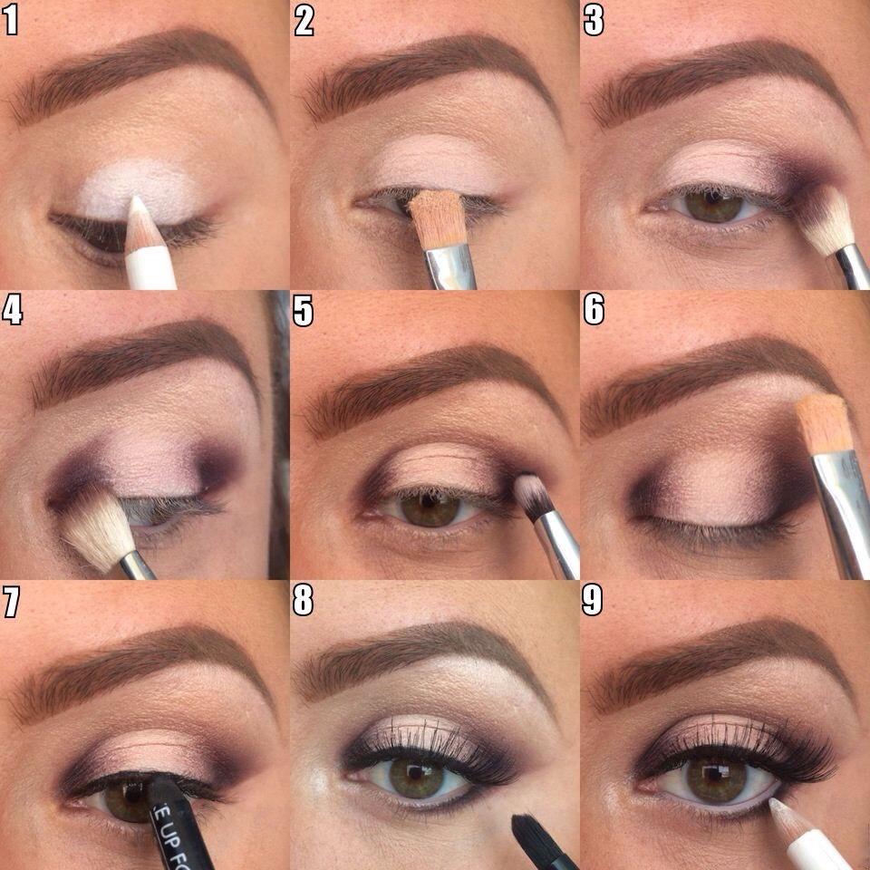 макияж пошаговое руководство с фото