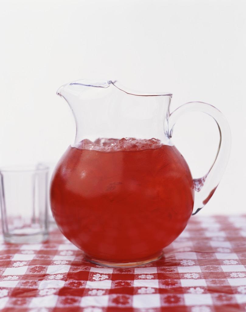 4 cups of fruit juice