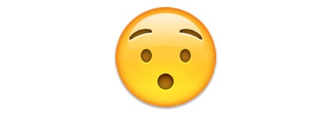 "7. Hushed Face This appears to be a shocked emoji, but it actually means ""hushed."""