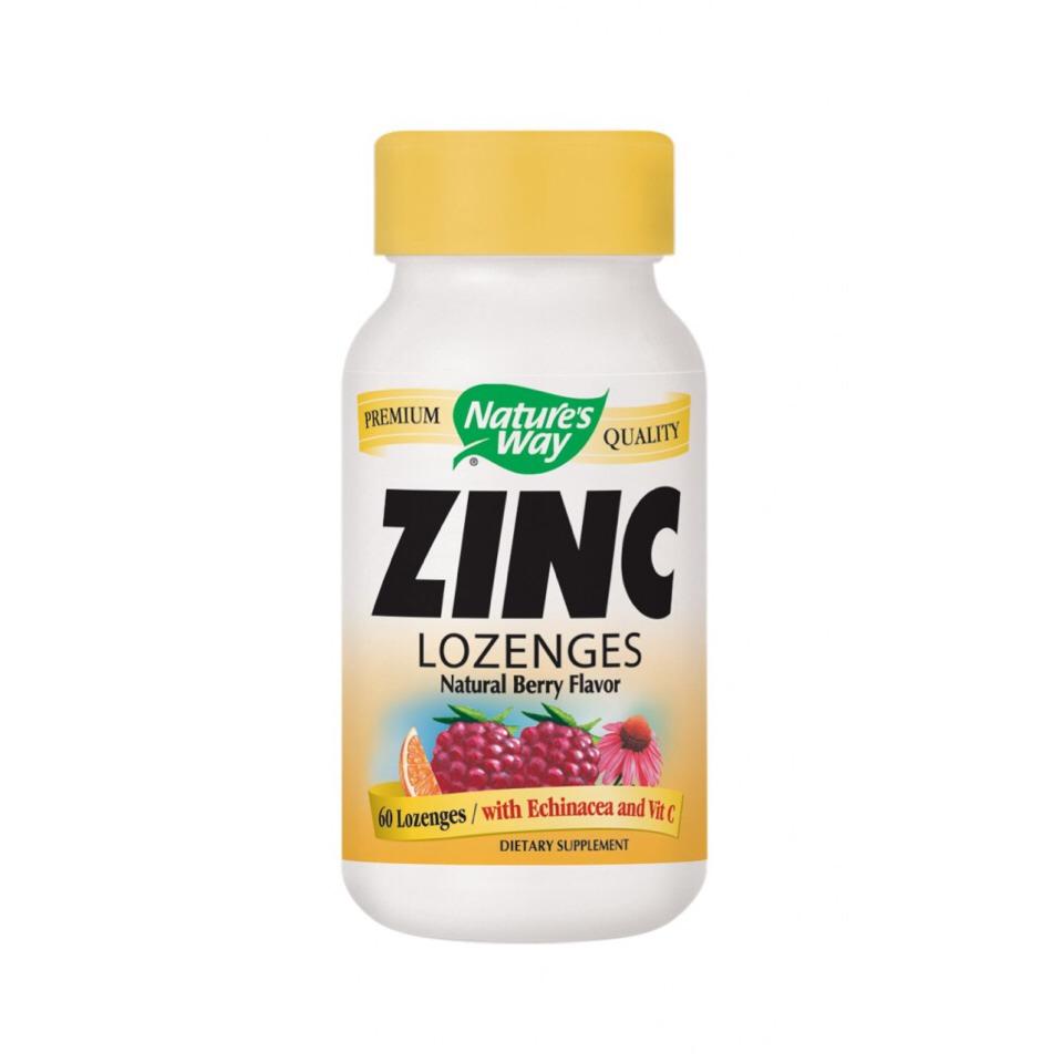 Take zinc once a day.