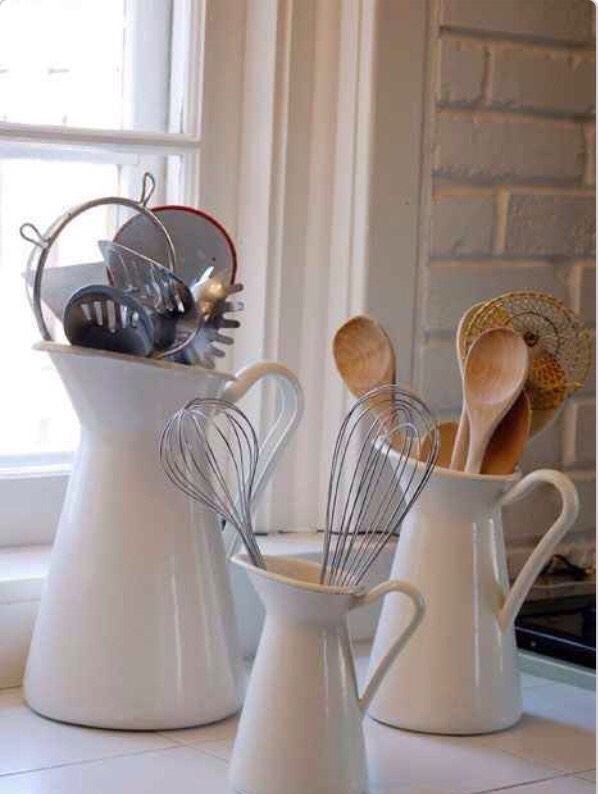 The Sockerärt is an elegant way to store your kitchen utensils! And they're only $19.99!