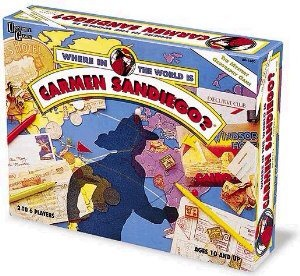2. Where in the World is Carmen Sandiego?