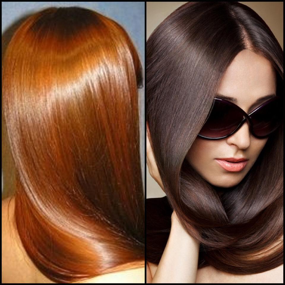 Glossy Hair!