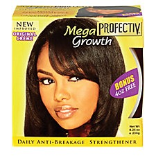 I used this ONLY on my roots. It's sticky but totally works over time. My hair wasn't breaking as much. Although I do not have black people hair (thick), I found that the products made for ethnic hair is works wonders.