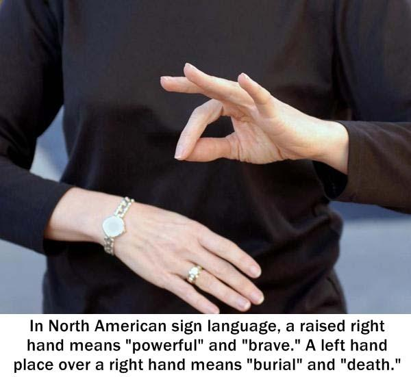 21.) ASL is a complicated language.