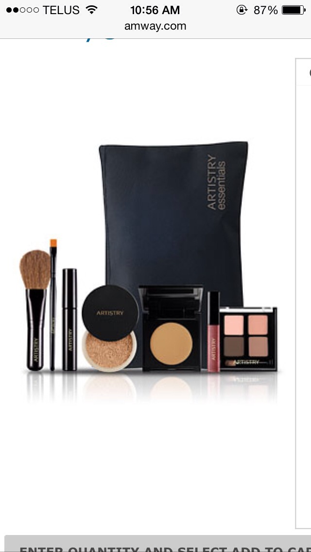 ARTISTRY ESSENTIAL MAKEUP KIT Invest in your very own beauty kit by Artistry. All your makeup must haves only for $67.05