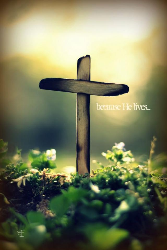 because he lives we can face tomorrow
