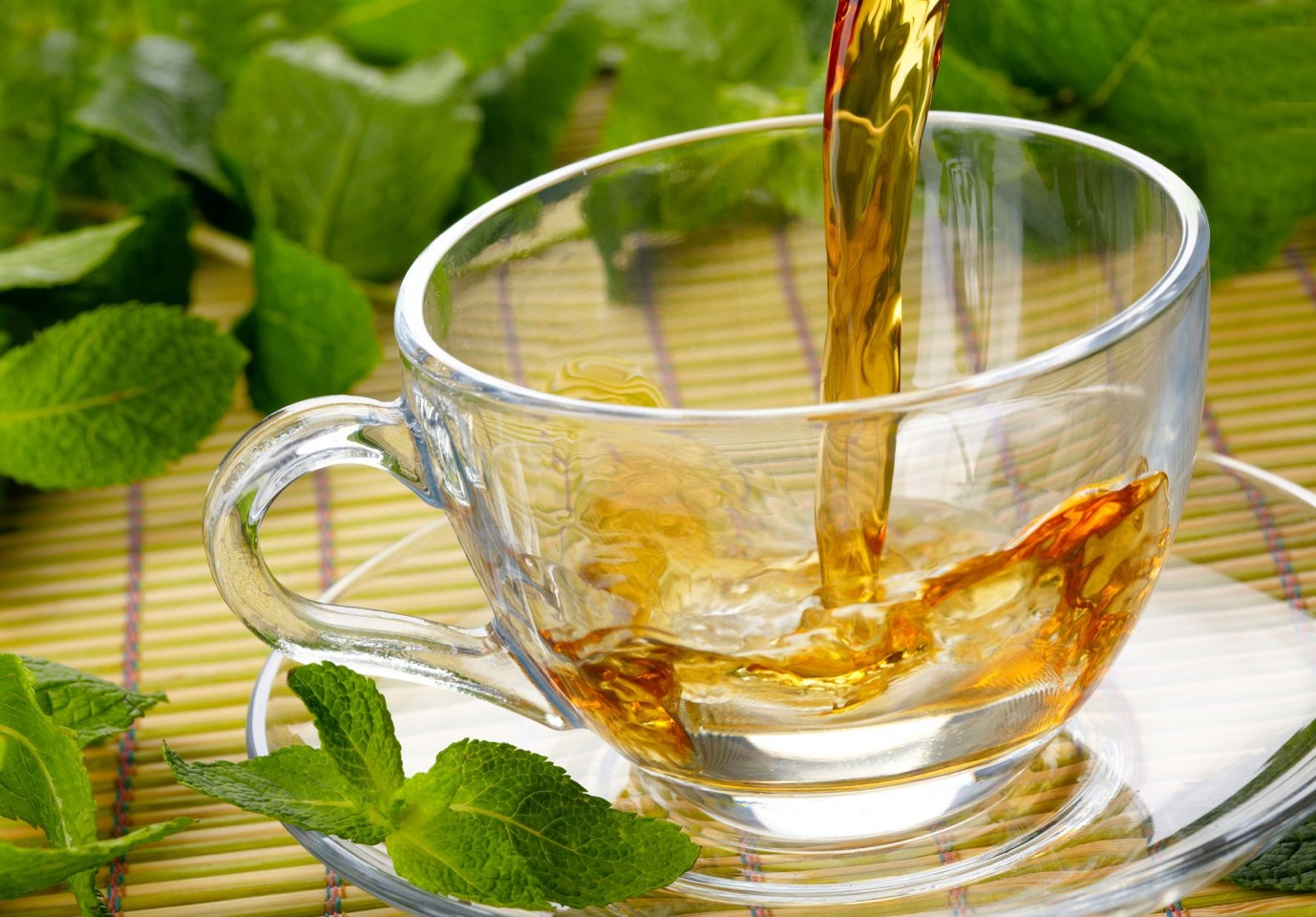 Green tea: First, it includes caffeine, which accelerates your heart rate and gets your metabolism going. The tea also contains a chemical, known as EGCG, that stimulates the nervous system and helps you to burn calories at a faster rate.