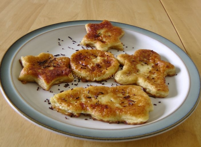 4) finally prepare your eggy bread as a savoury or sweet meal and enjoy 👏