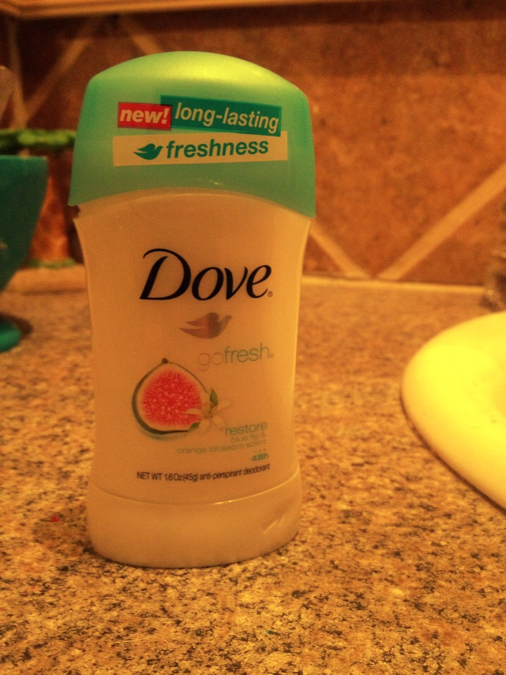 Have a new deodorant that you just bought from the store?