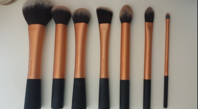 Use the right brush for different techniques. You will also avoid finger strokes by using a brush!  You could also use a damp beauty blender.