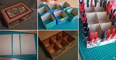 http://goodiy.blogspot.ro/2014/01/diy-cardboard-organizer-box.html