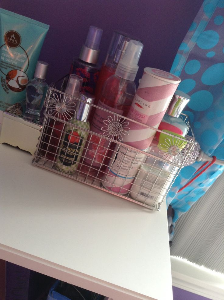 if you are a teenage girl like i am just use stuff u have around the house for a cheep way to store your stuff