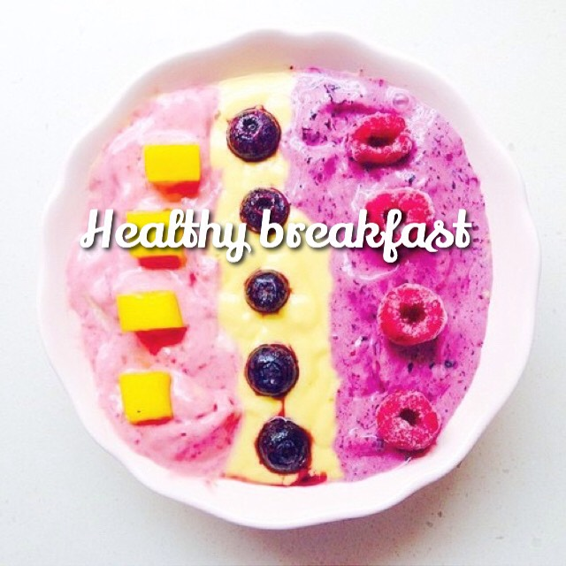☀️Here are some healthy breakfasts ideas that are quick, simple, healthy and tasty. Hope you enjoy them!☀️