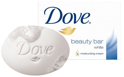 BEAUTY AND FUNCTION! USE DOVE SOAP TO ATTACK THE DIRT!