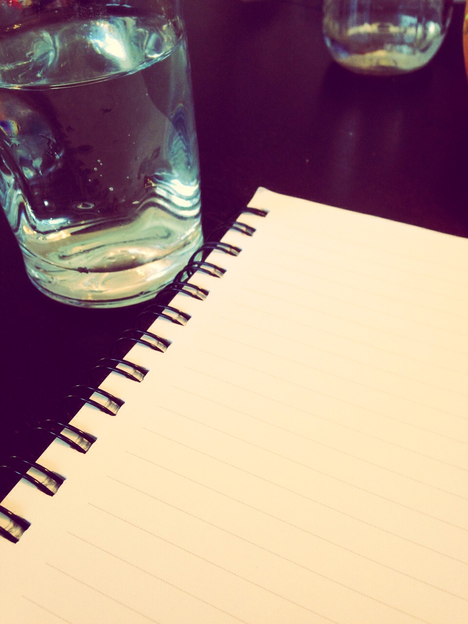 Bring a water bottle (or tea) and a notebook! Take notes if your in acting class to look over your thoughts later. Water is important for your voice help project and get as much volume as you need.