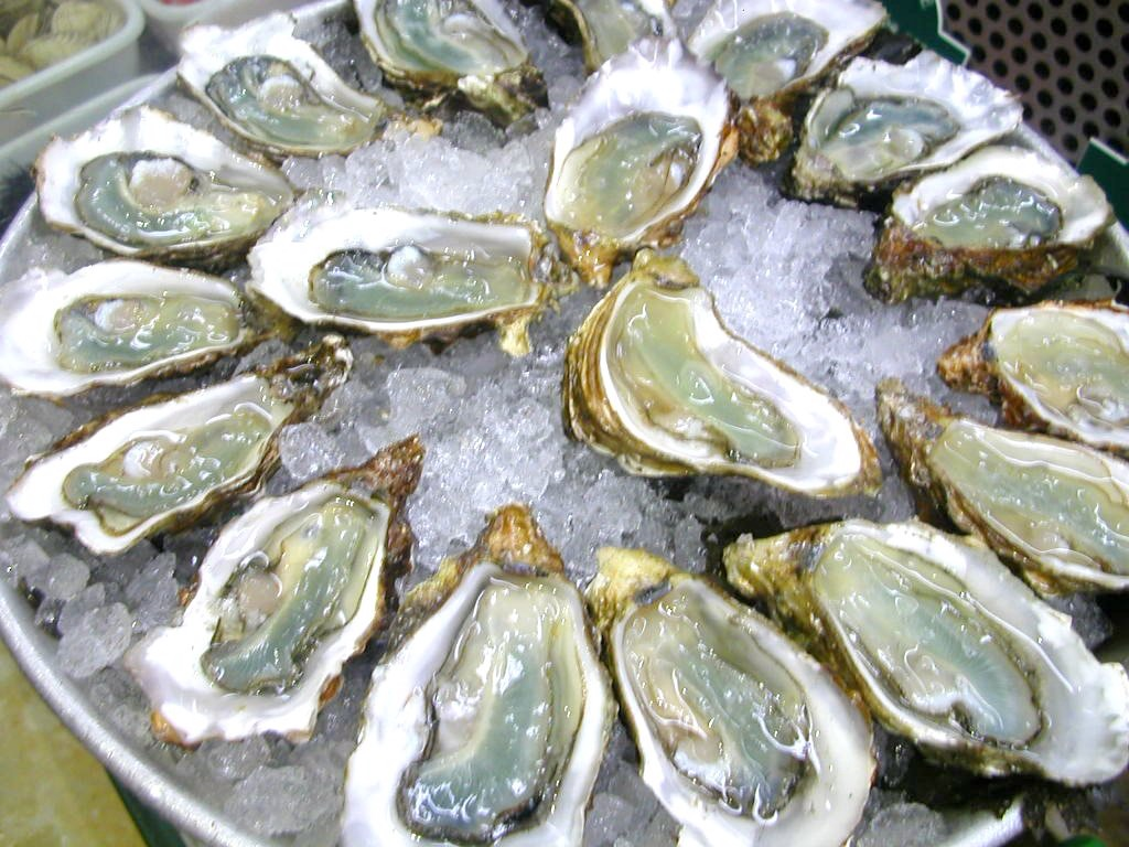 Oyster:Despite their slippery and slimy texture, oysters may be the most well-known aphrodisiac. They're also one of the best sources of libido-boosting zinc. other types of seafood can also act as aphrodisiacs. Oily fish like wild salmon and herring contain,which are essential for a healthy heart
