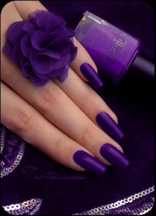 I love this purple! It's Disco Dress by Color Club.