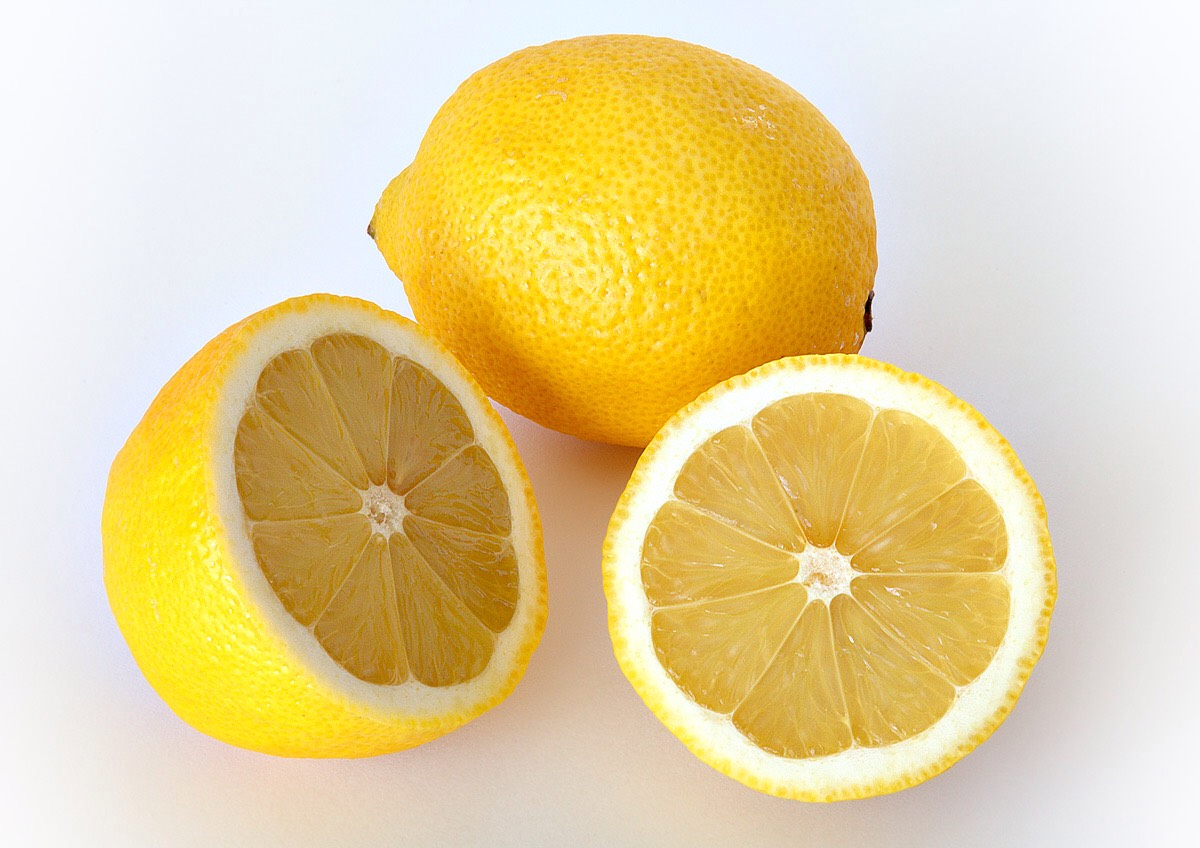 LEMONS! JUST RUB THAT SHIT ON YOUR SKIN!