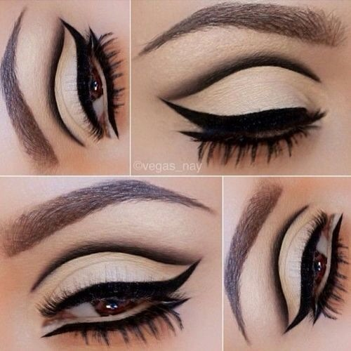 Want a bold eyeliner look? Follow these simple steps:)