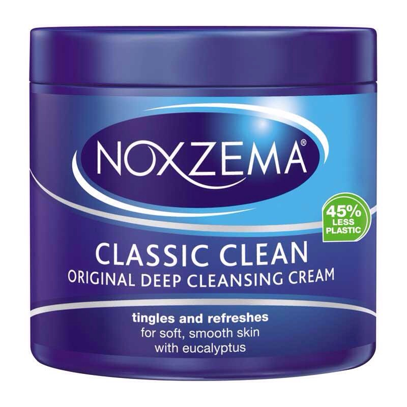 After the Oxy, use a little bit of noxzema. Rub your hands with it for 5 seconds and start scrubbing your face with it.