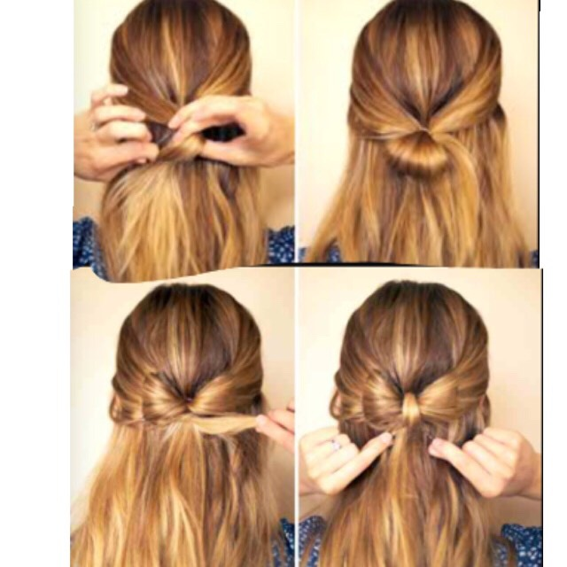 THIS BOW LOOKS SOO NICE 🌸😭😍🎀  Just follow these 4easy stept above !