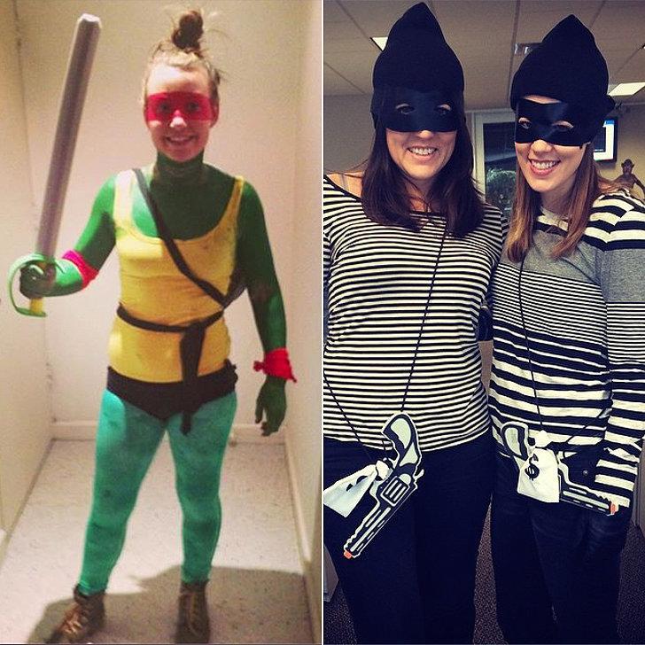 Costumes: Teenage Mutant Ninja Turtle, robber Hero Mask Superhero Mask ($1)