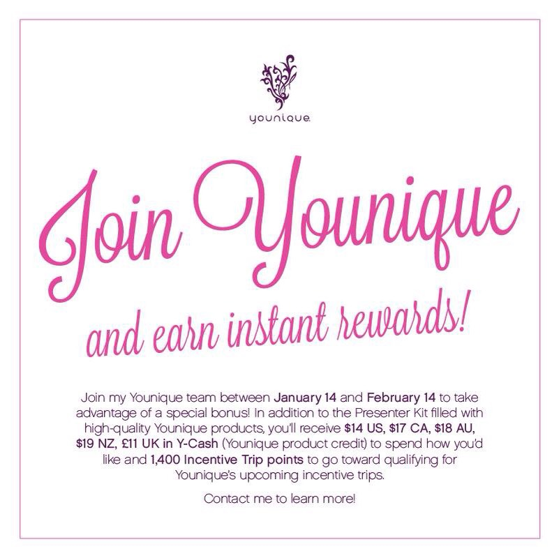 Join now for instant rewards towards a cruise to Jamaica and free products for your self! <3 ask me how
