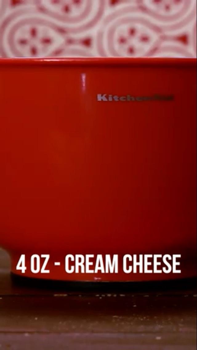 Add 4 oz of cream cheese 🍕🍔