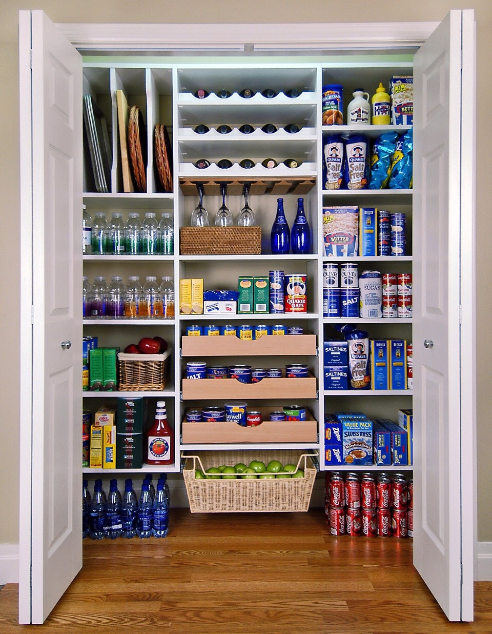Clean out your pantry and refrigerator. Get rid of the foods that sabotage your weight lose.