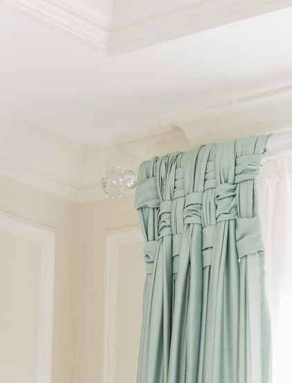 4. Basketweave your drapes.