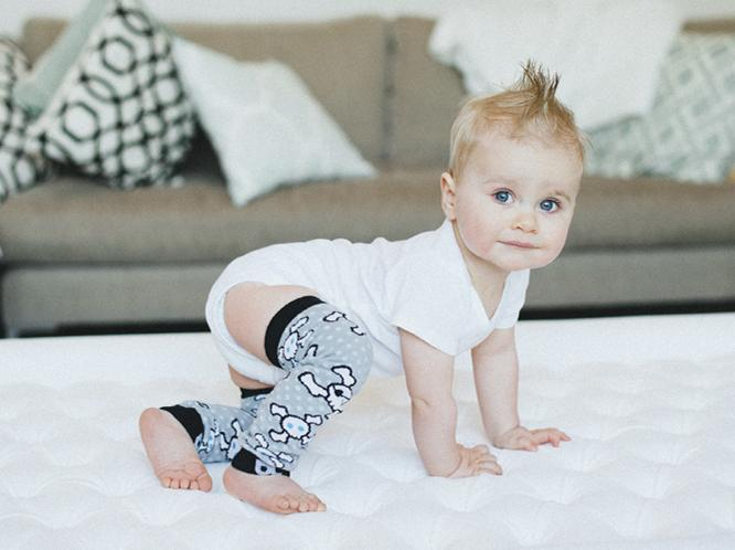 So these are adorable!!! Baby Leggings (http://lch.bz/1k6BPKM) protect tiny knees from hard floors, allow you to change a diaper without removing bottoms, and are so cute in various, colorful styles.