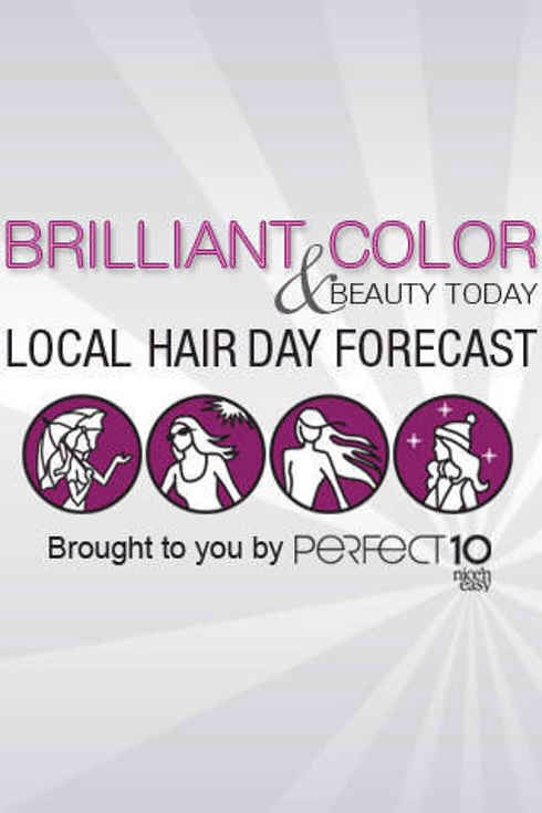 13. Hair Cast gives you hairstyle advice based on the weather in your area.