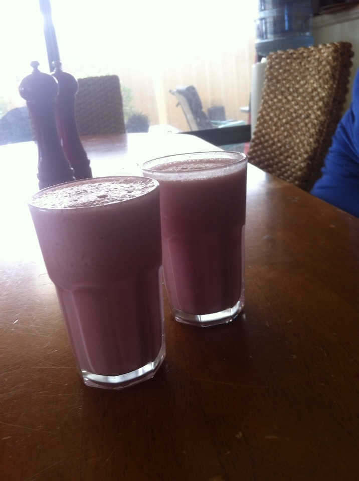 AllBerry Soy Milk Smoothie