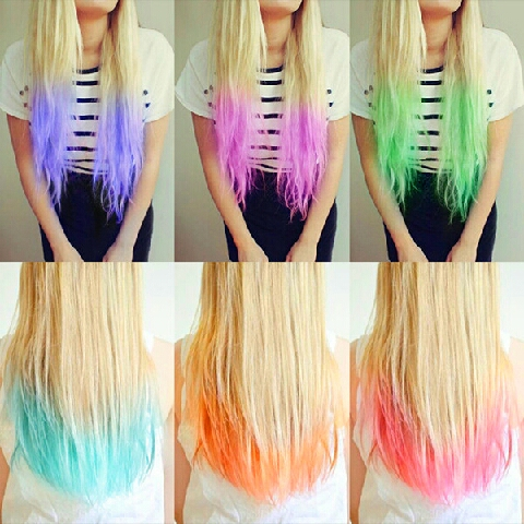 Its okay to only dye the ends