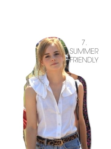 The weather's getting warmer and that means it's time to get the denim cutoffs out of your closet. There are so many upcoming festivals and carnivals, and Emma knows exactly how to dress for them.