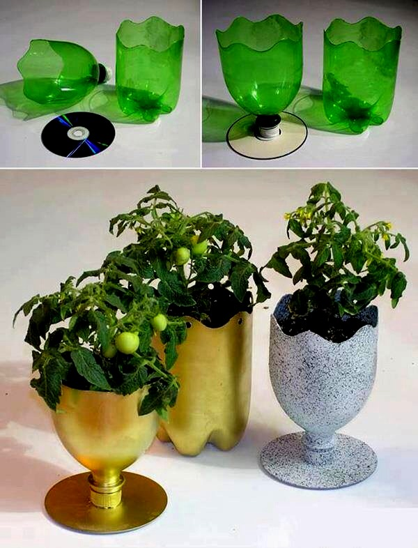 Musely & Cool Home Made Flower Pot by Brittney Ipina - Musely