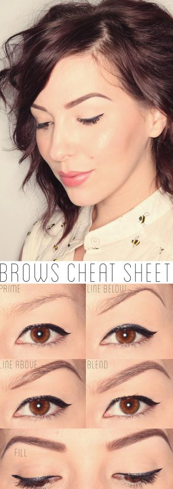 Well-groomed brows frame your eyes and can pull your entire look together. It's easy to master the art following these simple steps. http://www.keikolynn.com/2013/11/makeup-monday-how-to-get-perfect-brows.html