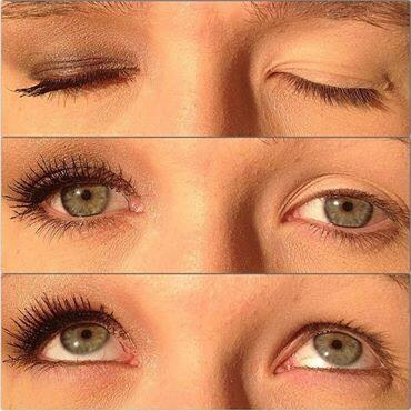 Eyelashes are what makes your eyes take care of them with natural and gluten free mascara! Bye bye chemicals!