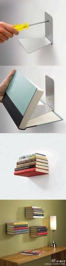 Perfect for displaying old editions or just your fav looking book you could also use as a small decorative shelf ;p