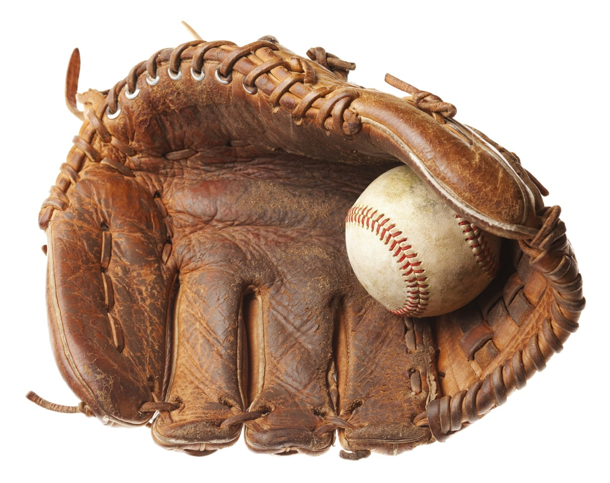Rub your glove with shaving cream! really works!